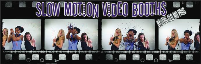 slow motion video booth cleveland
