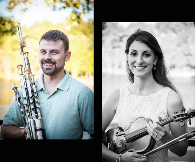 Brian & Kristen Bigley – Irish Piper & Violinist