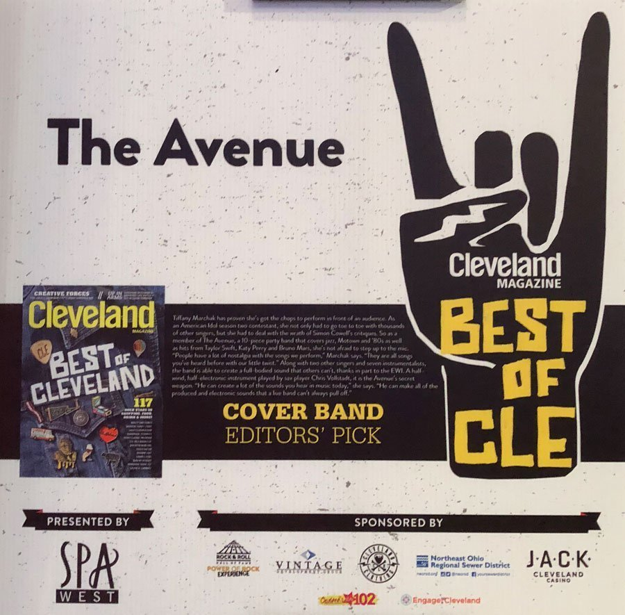 Cleveland wedding Band The Avenue