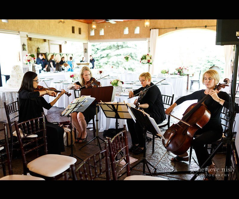 wedding ceremony musicians in Cleveland - String trio