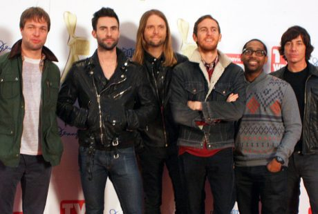 A picture of the band Maroon 5