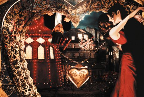 A promo picture from the movie Moulin Rouge