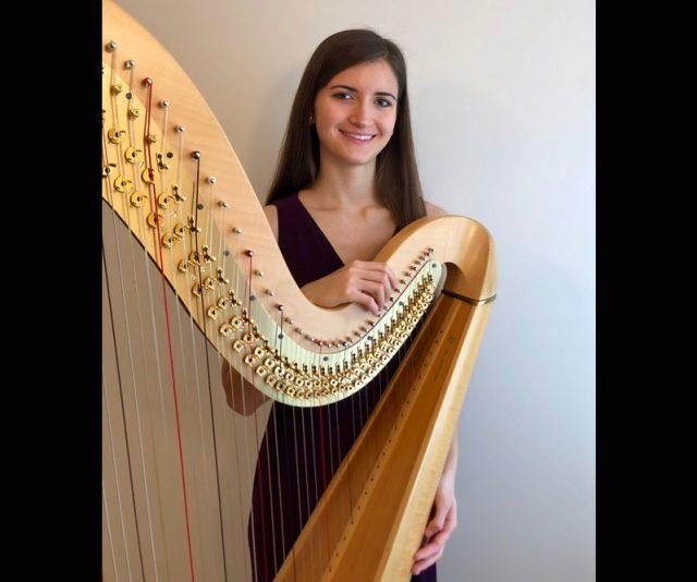 Cleveland wedding harp